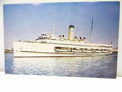 "Vintage Steamer ""Catalina"" Santa Catalina Island California Steamship Ship"