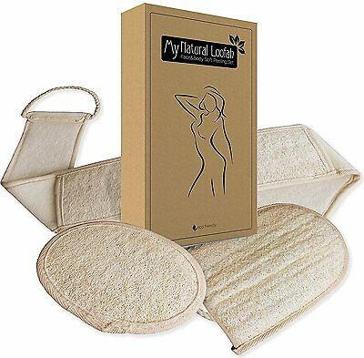 Coffret de SOFT PEELING SET en LOOFAH NATUREL