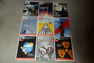 Bundle Of 9 Assorted PE Engineering Magazines From 2014-17