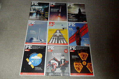 PE Engineering Magazine Bundle - 9 Issues From 2014 To 2017