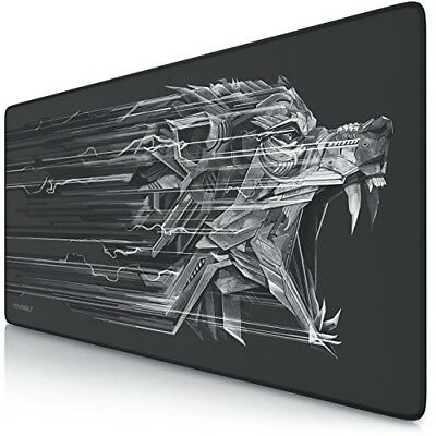 TITANWOLF XXL Speed Gaming Mouse Mat/Mouse Pad 900 x 400mm   XXL mouse pad   tab