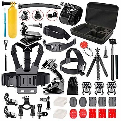Bestter 52-in-1 Action Camera Accessory Kit for GoPro Hero 5 Session/Hero Sessio
