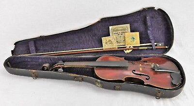 Antique copy of Antonius Stradivarius Violin, Made in Germany. Wi (BI#MK/181117)