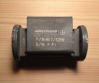 Waveguide Ferrite Isolator 7.8GHz 8.5GHz Airtron & Hughes Air. Patent 2,776,412