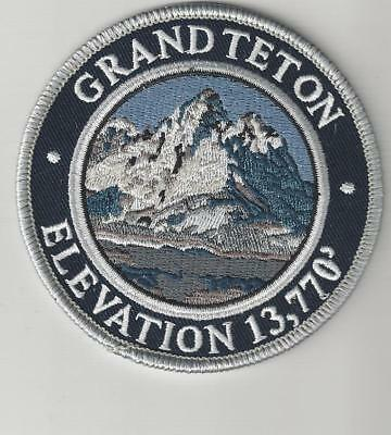 Grand Teton Mountain Souvenir Wyoming Patch