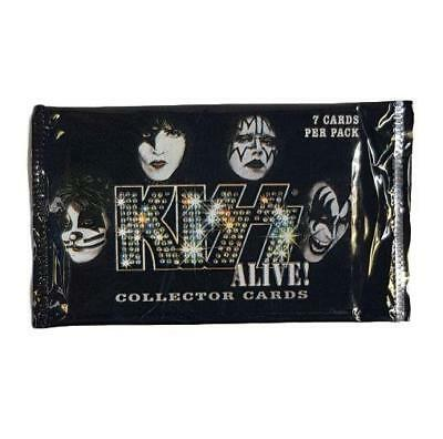 KISS Alive! 2001 Collector Cards Pack Music Gene Peter Paul Ace
