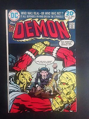The Demon #15 (1973) VF-