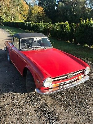 Triumph TR6 1972 150 injection british car not a  import