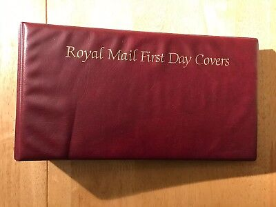 STAMPS - ROYAL MAIL COVER ALBUM ( Pre Owned ) WITH 15 Pages
