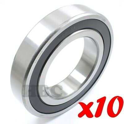 Radial Ball Bearing 6207-2RSNR With 2 Rubber Seals /& Snap Ring 35x72x17mm