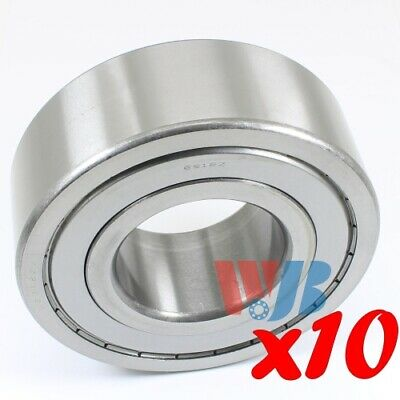 Ball Bearing WJB 62307-2RS Cartridge Type With 2 Rubber Seals 80 x35 x31mm