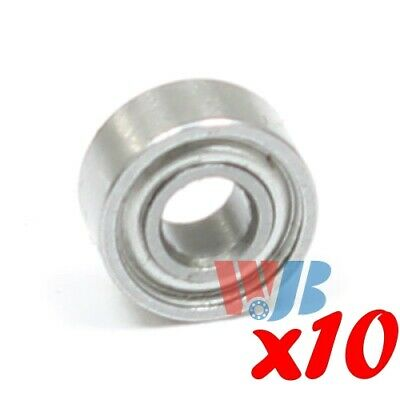 Ball Bearing WJB 6201-ZZ-13mm With 2 Metal Shields 12x32x10mm