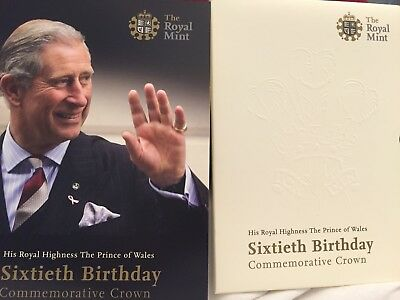 His Royal Highness, The Prince of Wales, 60th Birthday Commemorative Crown Coin