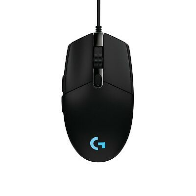 Logitech G203 Prodigy Wired Optical Mouse - Black