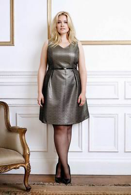 GOK WAN Tu vintage inspired metallic gold party dress 🎄 CHRISTMAS 🎄 PRICE DROP