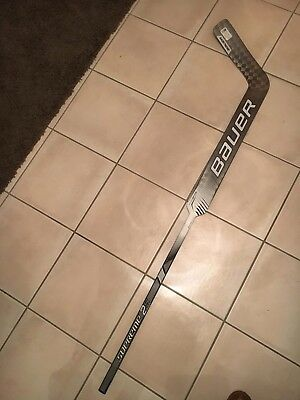 BAUER 2S PRO Composite 27 Paddle Ice Hockey Goalie Stick Goaltender  Netminder