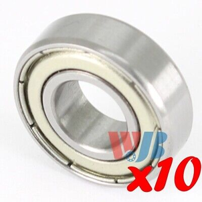 Set of 10 STAINLESS STEEL MINIATURE BALL BEARING S685-ZZ WITH 2 METAL SHIELDS