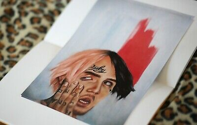 Lil Peep A2 Poster Print Oil Painting GBC Artwork