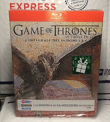 Like New Game Of Thrones Season 1-6 Blu-Ray! French Import+Region Free! Near New