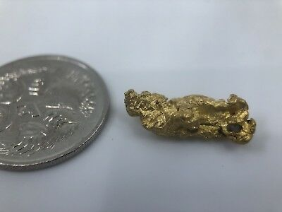 Australia Natural Gold Nugget / Nuggets Weight 2.55 Grams
