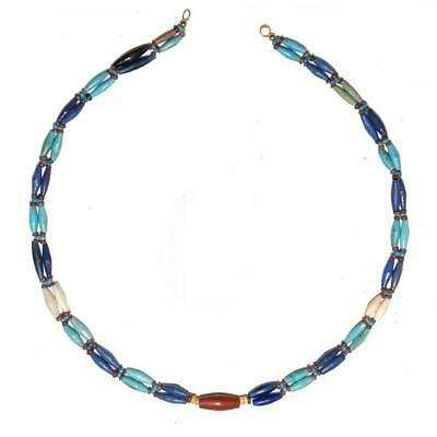 * An Egyptian Faience & Stone Bead Necklace, Third Intermediate Period, Dynasty