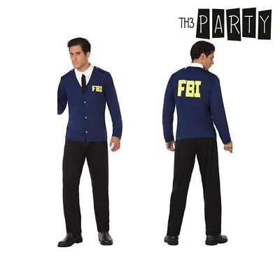 Costume per Adulti Th3 Party Poliziotto fbi S1110186