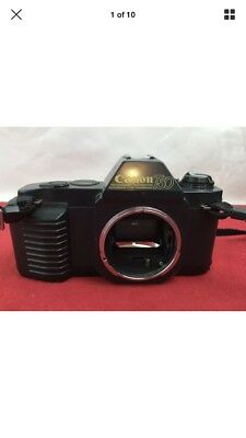Canon - T50 - 35mm Film SLR Camera -  Body Only - For Parts Or Repair -