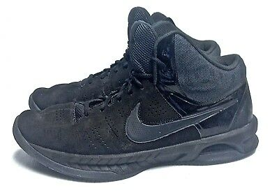 NIKE AIR VISI PRO 6 men s BLACK BASKETBALL SHOES SZ 10 IN VERY GOOD  CONDITION 2067e03c8