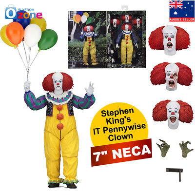 "7"" NECA Stephen King's IT Pennywise Clown 1990 Ultimate Action Figure 1:12"