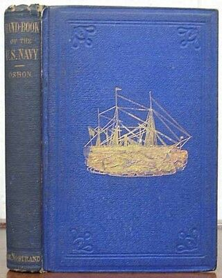 . Compiler. Very Osbon / HAND BOOK Of The UNITED STATES NAVY Being First Ed