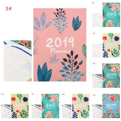 2019 Notebook 365 Daily Weekly Monthly Yearly Calendar Planner Schedule Organize
