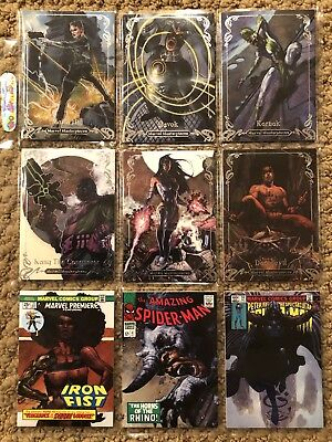 Marvel Masterpieces 2018 Random Card Lot - All Tiers - Gold - Base - No Doubles!