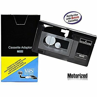 Motorized VHS-C Cassette Adapter For JVC C-P7U CP6BKU C-P6U,Panasonic