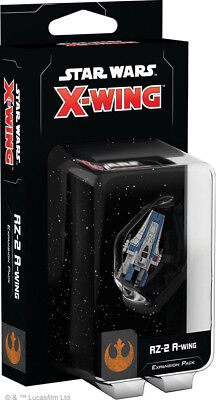 Star Wars X-Wing 2nd Edition RZ-2 A-Wing Expansion Pack Factory Sealed New 2.0