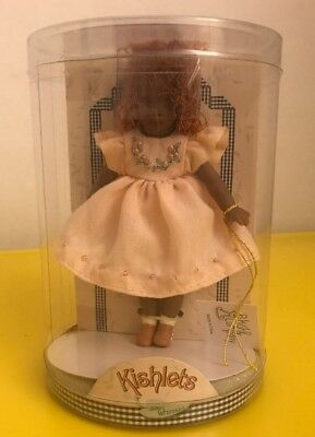 "Kishlet Doll ""Evie"" Helen Kish & Co. 4.25"" Hard to Find Lady Kish Whimsies 2003"