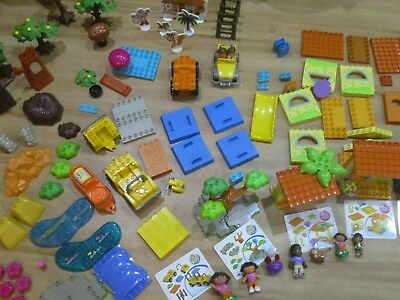 Dora the Explorer Lego Mega Blok Multiple Sets Treasure Island Playground Pirate