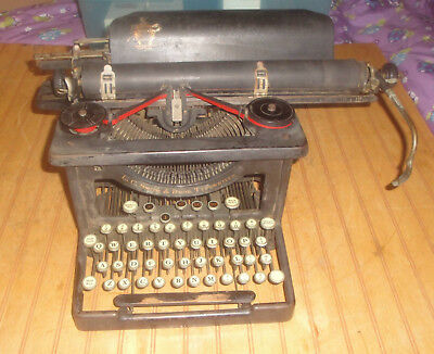 Antique Vintage L.C. Smith & Bros. Manual Typewriter for parts repair or display