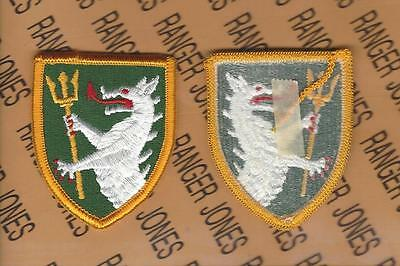 DESERT US ARMY 108TH ARMORED CAVALRY REGIMENT PATCH