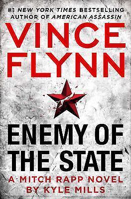 Enemy of the State-Kyle Mills-2017 Mitch Rapp novel #12-hardcover/dust jacket
