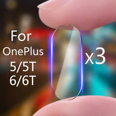 3PCS Back Camera Lens Tempered Glass Screen Protector Film For OnePlus 6 5T 2.5D