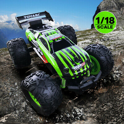 Monster Truck Rc Cars >> 1 18 Rc Cars Remote Control Monster Truck Big Wheel Off Road Racing