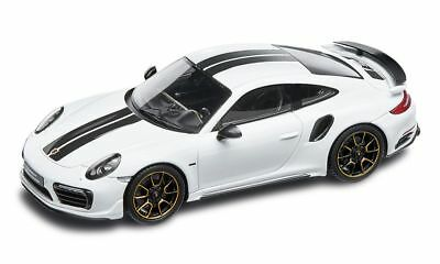 Neuf Authentique Porsche 911 Turbo S Séries Exclusives Blanc Voiture Modélisme