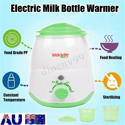 Multifunctional Electric Baby Bottle Milk Warmer Heating Up Food And Sterilizing