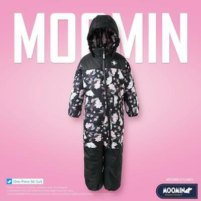 moomin Skisuit Ski Suit One-piece Kid Girl Snowsuit Winter Coverall Jumpsuit