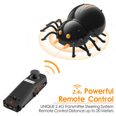DIY Electronic Spider RC Cars Remote Cartoon Toys Remote Truck Kids Gift 2.4Ghz