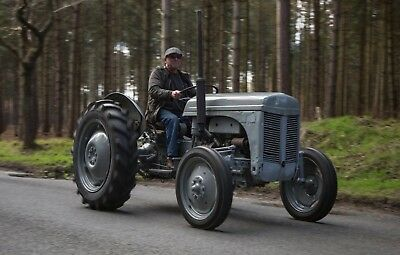 1951 Ferguson TED 20 TVO Paraffin/Petrol Tractor Vintage Classic Road registered