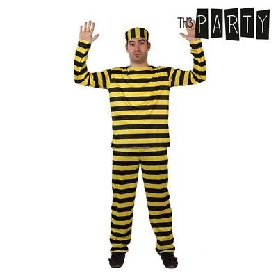 Costume per Adulti Th3 Party Carcerato S1109317