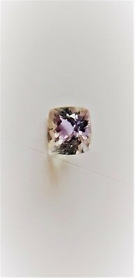 Tanzanite Faceted Gemstone 0.98cts Cushion