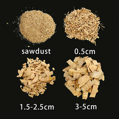 Apple wood Smoking Chips Sawdust BBQ Grilling Chunks for Cold Smoke Generator