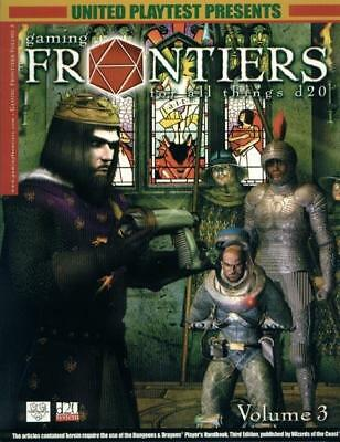 United Playtest Gaming Frontiers Gaming Frontiers #3 SC MINT
